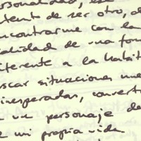 Por escrito/In writing